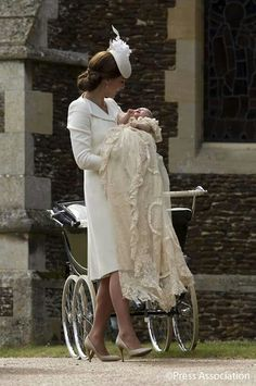 Princess Charlotte's christening gown