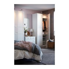pax kleiderschrank wei tyssedal glas ikea liebe pinterest kleiderschrank schrank und. Black Bedroom Furniture Sets. Home Design Ideas