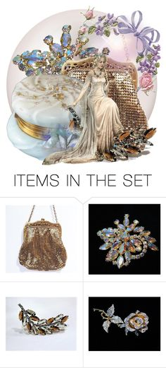 """Wedding Day Glitters"" by pattysporcelainetc ❤ liked on Polyvore featuring art, vintage and country"