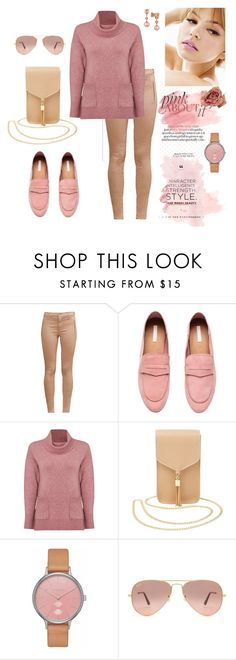 """pink shades"" by agnesmakoni ❤ liked on Polyvore featuring French Connection, White Stuff, Charlotte Russe, Skagen, Ray-Ban and LE VIAN"
