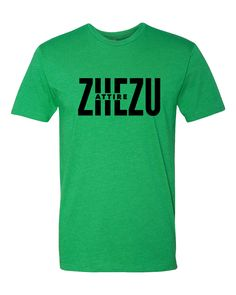 Zhezu Attire Kelly Green Tee/T-Shirt.Only $24.99. #Zhezu is all about #Unity in #Jesus #Christ. Zhezu signifies Jesus in the Djimini Language. Our goal is to remind members of the same belief in Jesus to keep the #unity of the #Spirit in the bond of peace everywhere we go. #God #Bible #Pray #TellTheWorld #Church #Jesuschrist #lafitness #christian #christianclothing #fashion #clothes #fitness #gym #motivation #summer #goldsgym #24hrfitness #tee #men #women #athlete #active #healthy #tshirt
