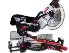"Craftsman 10"" Compact Sliding Compound Miter Saw #Craftsman #compact #sliding #miter #saw #garagev #tools #Craftsman"