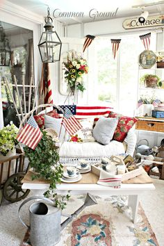 In LOVE with this porch ~ Common Ground