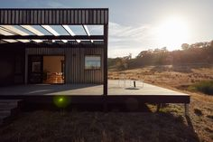 Gallery Of Bonnie Doon Home By Archiblox Local Design And Architecture Bonnie Doon, Vic Image 10 New Zealand Architecture, Residential Architecture, Interior Architecture, Interior Design, Off Grid House, Box Houses, St Kilda, Building A New Home, Modular Homes