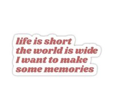 'Mamma Mia Sticker by Meghan McSpadden - Quotes Mamma Mia, Senior Quotes, Lily James, Wall Collage, Music Artists, Wise Words, Things I Want, Silhouette Cameo, Musicals