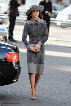 Catherine, Duchess of Cambridge attends the Commonwealth Observance Day Service on March 14, 2016 in London, United Kingdom.