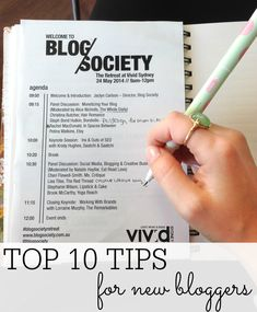10 Tips From My First Blogging Conference