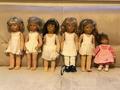 Kaethe-Kruse-Puppen-6-Puppen-Puppenkleidung-Puppenschuhe-Kataloge