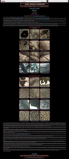 The REAL Mars Mars Surface Water & Bio Life