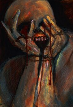 macabre horror art throat slit: 13 thousand results found on Yandex. Arte Horror, Horror Art, Creepy Art, Scary, Creepy Paintings, Dark Art Paintings, Connie Springer, Arte Obscura, Macabre Art