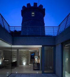 The Round Tower by De Matos Ryan Architects