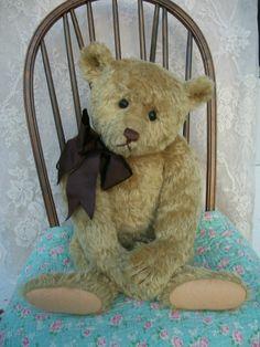 Antique Steiff Style Artist Teddy Bear by Craig Bottiger