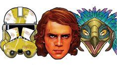 Star Wars Maske ausdrucken