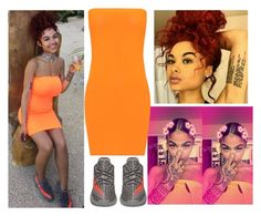 """""""orange"""" by queen500 ❤ liked on Polyvore featuring illy and WearAll"""