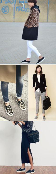 Slip-on sneaker style: vans + sam edelman