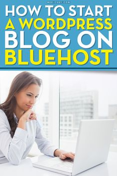 Bluehost | The fact is that blogging can be a lucrative business with the right effort and business plan, but first, you need to create a blog that looks good and functions well. WordPress is the blogging platform of choice. It is constantly updated by the creators to continuously make a stronger and better platform | http://mer-cury.com/blogging-tips/how-to-start-a-wordpress-blog-on-bluehost/