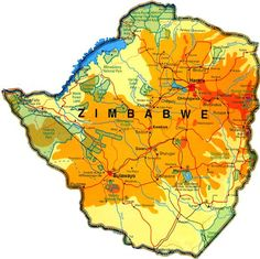 Zimbabwe--obviously the garden spot of Africa...but it has been neglected.  Still a beautiful country.