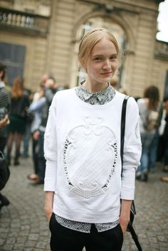 Paris Couture Week street style [Photo by Kuba Dabrowski]