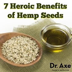 According to research the benefits of hemp seeds are strong due to it's high content of GLA, omega-3 fats, fiber and magnesium. Hemp seeds may benefit skin