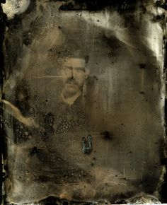 savannapettengill:  Collodian Wet Plate Tintype portrait I took of Kyle Bryant this past semester in my Alternative Processes Class at Maine College of Art taught by Cheryle St. Onge