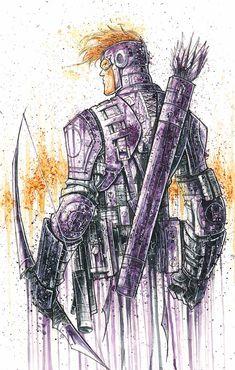 """Hawkeye """"Saucy"""" Commish"""