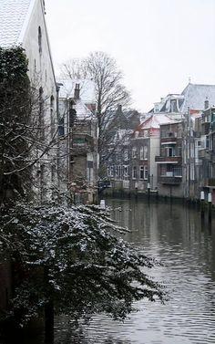 Dordrecht, South Holland, Netherlands Vintage Gardening, Family Roots, Bruges, Winter Travel, Delft, Vintage Photography, Rotterdam, Holland, Old Houses