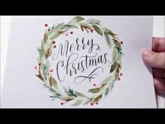 Masking Fluid Tutorial with Calligraphy and Watercolor - YouTube