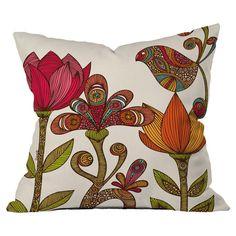 Valentina Ramos in The Garden Polyester Throw Pillow