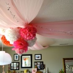 A super simple DIY party decor project with a huge impact – and a great way to make your celebration special!