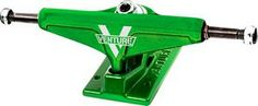 "Venture Trucks Skateboard Trucks  Venture Hi 5.25"" Kryptonite Lime Green KRYPTONITE  #skateboarding"