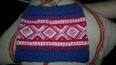 Mariusmønstret er et mønster som er blitt veldig populært igjen og jeg så et bilde av noen som har strikket et pannebånd med dette mønsteret. Og da bare måtte jeg strikke meg et jeg også :) Jeg har...
