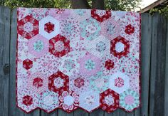 Baby Quilt / Girl / Nursery / Crib / Pink Quilt / by QuiltRhapsody, $300.00