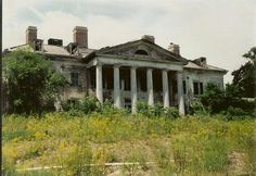 Plum Point Mansion and Academy, Windsor, NY    Would you abandon this?!?!