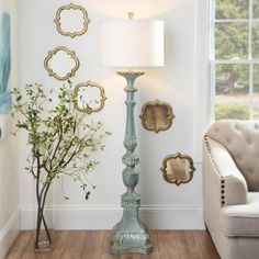 Mackinaw Cream Floor Lamp Kirklands Home Decor