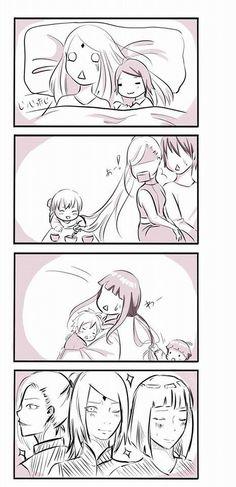 Sakura, Ino and Hinata