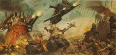 Orks vs. Imperial Guard [Astra Militarum]