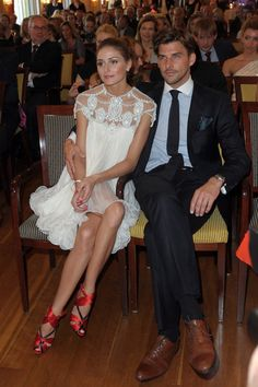 CHANEL AFTER COCO: CELEB COUPLE: OLIVIA PALERMO & JOHANNES HUEBL