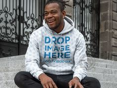 New! Hoodie #Mockup of a Smiling Black man Sitting outside an Old Building. Try it here: https://placeit.net/c/apparel/stages/hoodie-mockup-of-a-smiling-black-man-sitting-outside-an-old-building-aa9296?color=ffffff