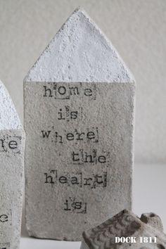 Huisje Home & Heart - beton | DOCK1811 Wonen | Bjoetiful.nl
