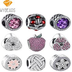 5Pcs Tibetan Silver Tone SkyBlue Cat Eye Beads Heart Charms Pendants 12x28mm