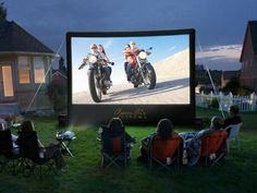 Can you build a backyard theater on the cheap?  You don't have to spend thousands of dollars to enjoy open-air cinema. But you'll still need brisk popcorn sales to cover some hardware costs.