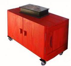 caixa com porta - Caixaria