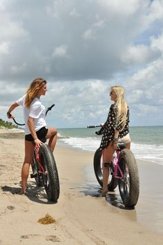 Girls on Fat Bikes