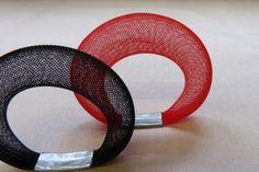 maker:  Sophia Emmett product:mesh accessories material:nylon  handmade in Melbourne