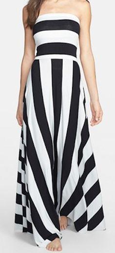 Stripe convertible maxi dress  http://rstyle.me/n/fpyn2nyg6