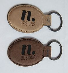 Personalized wood Ornaments and more! Wood Invitation, Custom Rubber Stamps, Wood Ornaments, Design Your Own, Keychains, Personalized Items, Unique, Leather, Gifts