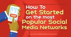 Are you starting a new social media presence?Discover tips to guide your posting on six social media networks.