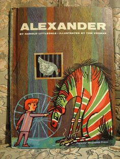 Children's Book Alexander by Harold by SodaFountainParty on Etsy. $8.50, via Etsy.