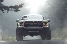 Took the new raptor to oregon and was able to get lucky in a nice foggy landscape. Automotive photography is so great. You can get as lucky as this or you can just shoot mid day and come up with something creative. Raptor Truck, Ford F150 Raptor, Ford Ranger Raptor, Ford Bronco, Ford Raptor Negro, Black Ford Raptor, Ford Rapter, Car Ford, 2019 Ford
