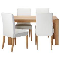 HÖGSBY/HENRIKSDAL Table et 4 chaises - IKEA, 485€